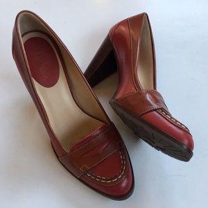 EUC Cole Haan leather heels